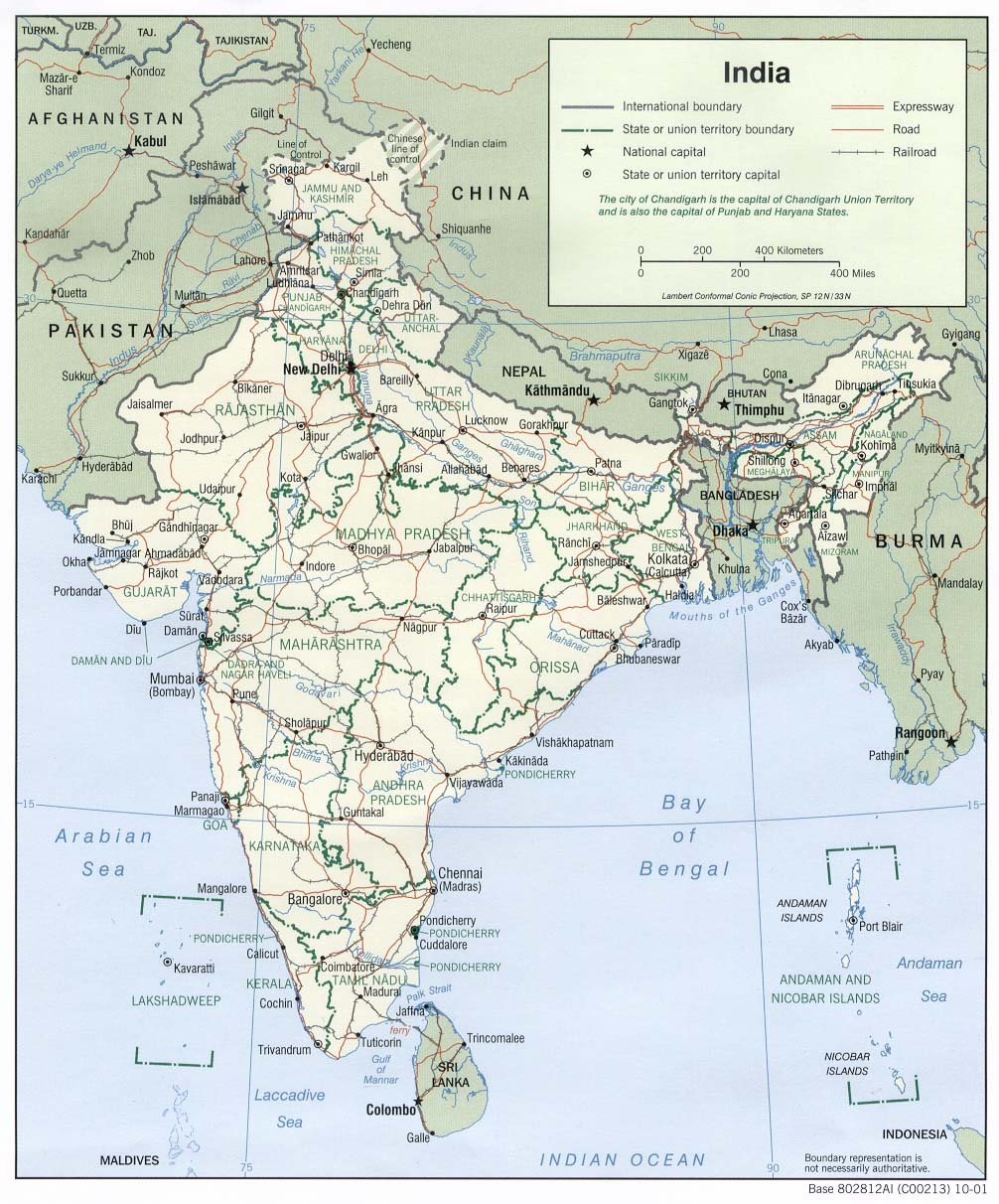 Indian Monsoon Geography